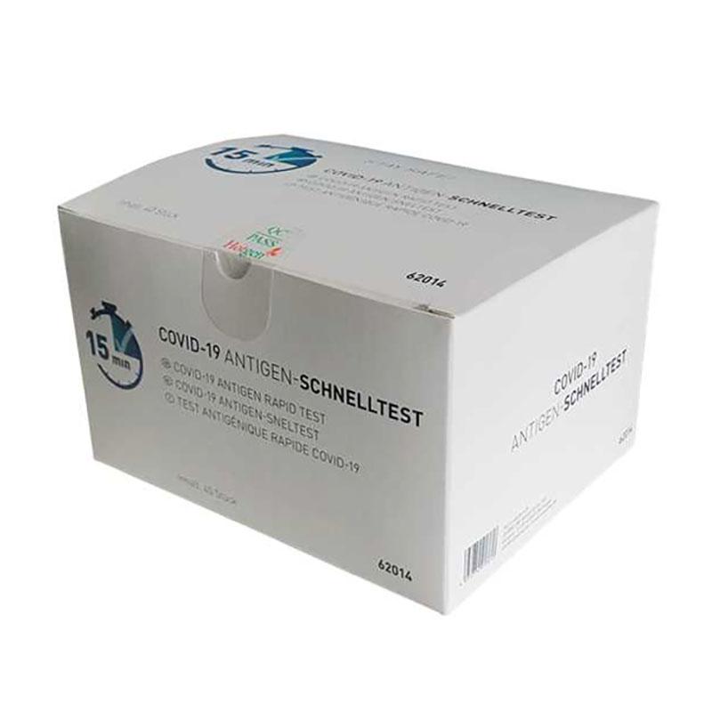 COVID19 Antigen-Schnelltest Umverpackung